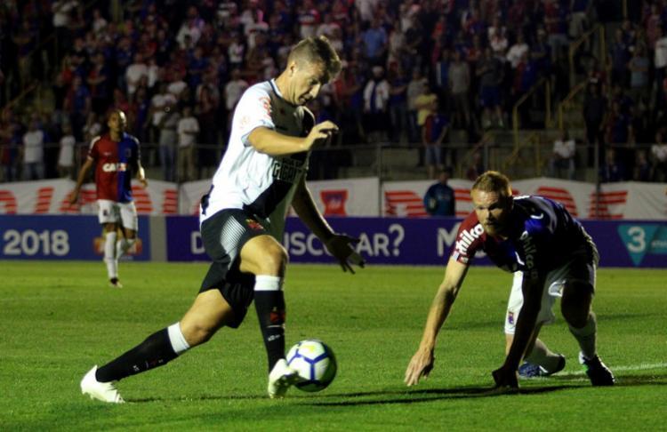 Resultado do jogo em Curitiba interferiu na lista dos clubes inseridos na zona de rebaixamento - Foto: Carlos Gregório Jr l Club de Regatas Vasco da Gama