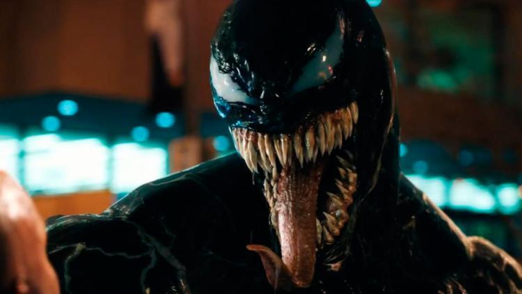 O simbionte, Venom, age como parasita e habita organismos vivos para sobreviver na Terra - Foto: Divulgação