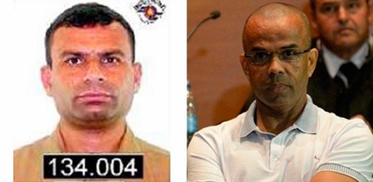 Vida Loka', à esquerda, e Beira-Mar são líderes do PCC - Foto: Reprodução
