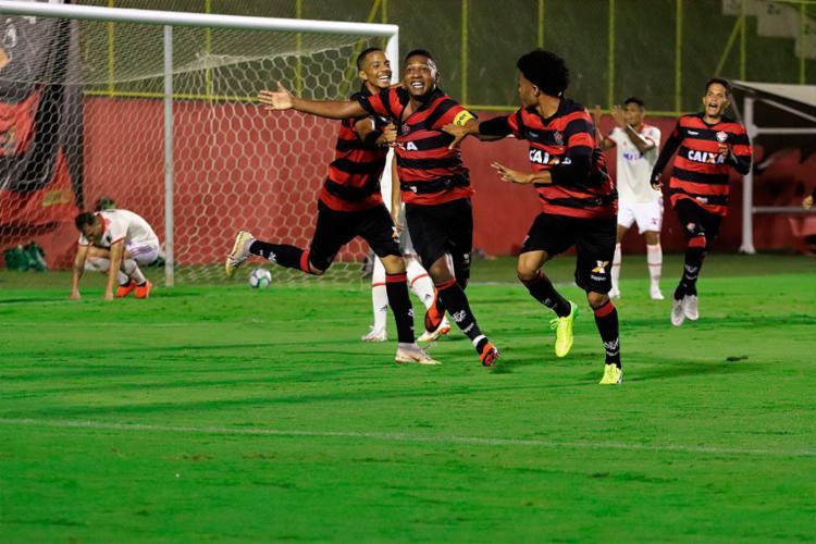 Leãozinho venceu o primeiro confronto por 6 a 1 - Foto: Maurícia da Matta l EC Vitória