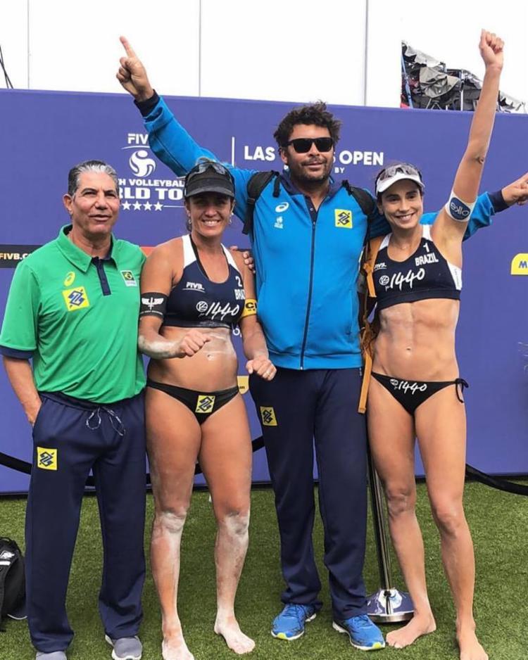 O bronze na etapa de Las Vegas rende 640 pontos no ranking do Circuito Mundial - Foto: Reprodução | Facebook