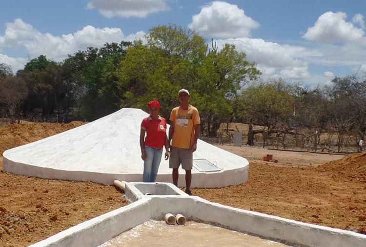 Projeto Cisternas amplia o acesso à água no norte da Bahia