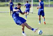 Enderson diz ser difícil contar com Gilberto para o clássico | Foto: Felipe Oliveira l EC Bahia