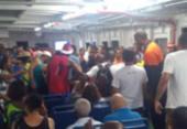 Idoso de 82 anos morre após passar mal durante travessia do ferryboat | Foto: Cidadão Repórter