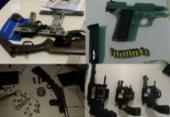 Operações apreendem 635 armas entre janeiro e outubro na RMS   Foto: Divulgação   SSP-BA