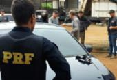 Operação da PRF combate falsificação de documentos na BA, MG e ES   Foto: Reprodução   André Falcão   TV Gazeta