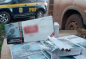 Polícia apreende mais de 6 mil maços de cigarros contrabandeados | Foto: Divulgação | PRF-BA