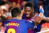 Suárez para Dembélé no Barça: