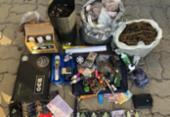 Dupla é presa suspeita de vender drogas dentro de faculdade na RMS   Foto: Divulgação   SSP-BA