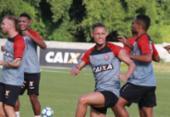 Ajuste tático fecha preparação do Vitória para duelo com Atlético-PR | Foto: Maurícia da Matta l EC Vitória