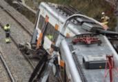 Espanha: trem com 150 passageiros descarrila e deixa 1 morto | Pau Barrena | AFP