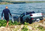 Bope mergulha no Rio Paraguaçu e realiza varredura em carro   Divulgação l SSP-BA