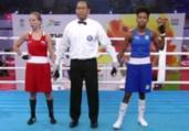 Jucielen fica a uma luta do pódio no Mundial de Boxe   Reprodução   Youtube