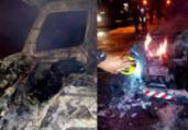 Caminhão com corpo carbonizado é achado em Jardim Valéria | Reprodução | Site Informe Baiano