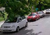 Motociclista fica ferido ao colidir com táxi no Itaigara | Reprodução | Google Maps