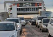 Movimento de retorno do feriado pelo ferry segue tranquilo | Shirley Stolze | Ag. A TARDE