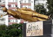 Monumento a Jorge Amado no Imbuí é alvo de vandalismo | Chico Castro | Cidadão Repórter