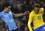 Neymar e Cavani minimizam jogo 'pegado' em amistoso   Adrian Dennis l AFP