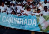 Povo de santo pede paz durante caminhada em Salvador | Shirley Stolze | Ag. A TARDE