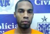 Suspeito de envolvimento na morte de Danilo Fortuna é preso | Divulgação | SSP-BA
