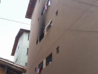Mulher coloca fogo em apartamento por ciúmes - Divulgação