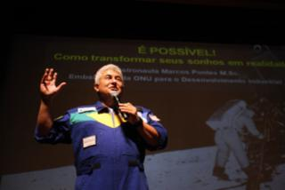 Marcos Pontes, astronauta brasileiro - MARCELO LELIS / AG. PARÃ