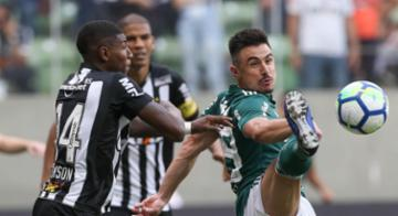 Em jogo bastante disputado, Verdão e Galo ficaram na igualdade no placar no Horto - Divulgação / Palmeiras