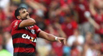 Henrique Dourado marcou o gol do triunfo do Fla, que festejou 123 anos - Divulgação/Flamengo