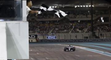Lewis Hamilton foi soberano: Finlandês dominou GP de Abu Dhabi, nos EMirados - Luca Bruno/Pool/AFP