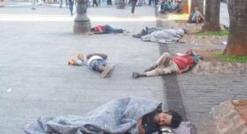 Moradores de rua - Divulgação