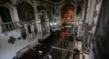 Serão investidos R$ 12 milhões na restauração da igreja, que deve durar três anos e meio - Raphael Muller