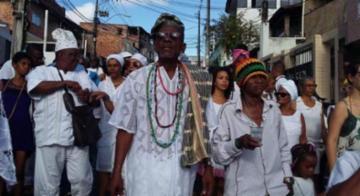 Representantes das religiões de matrizes africanas pedem paz - Shirley Stolze/Ag. A Tarde