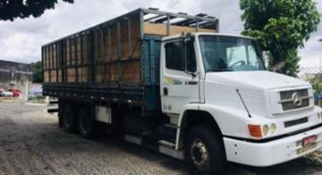 Carga recuperada já foi entregue ao dono, enquanto o caminhoneiro segue desaparecido - SSP--BA/Divulgação