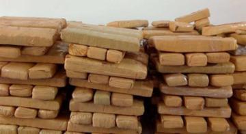 Polícia apreendeu 300 kg de droga em tabletes, na Bahia - Divulgação/Polícia Civil