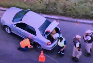 Homem morre durante tentativa de assalto a policial militar na BR-324 | Reprodução | TV Record