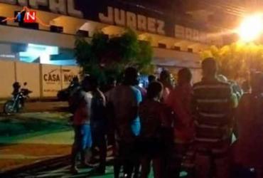 Homem é morto e duas pessoas baleadas em festa pela classificação de time | Reprodução | Itamaraju Noticias