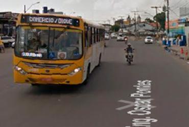 Mulher é atropelada próximo à Feira de São Joaquim   Reprodução   Google Maps