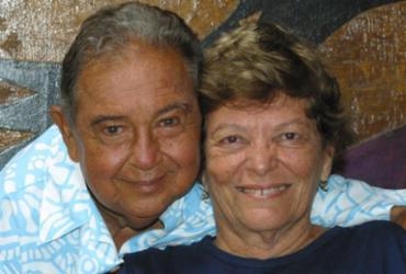 Morre aos 85 anos Auta Rosa, viúva do artista plástico Calasans Neto | Margarida Neide | Ag. A TARDE