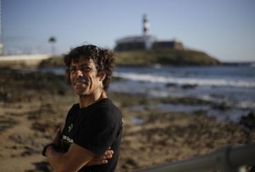 Morador da Barra cria projeto de conservação ambiental para a praia | Raphael Müller | Ag. A TARDE