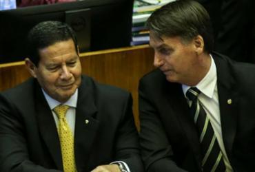 Bolsonaro avalia Mourão como 'gerente' do governo   Antônio Cruz   Agência Brasil