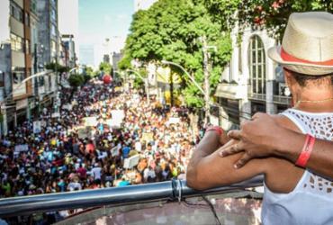 Vias são bloqueadas no centro de Salvador para a Caminhada do Samba | Divulgação