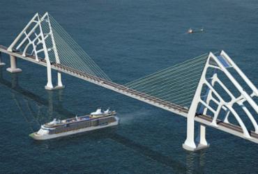 Chineses da ponte aceleram os movimentos rumo a Salvador | Divulgação