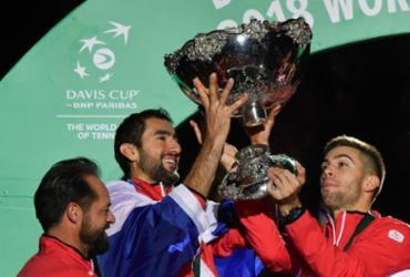 Cilic bate Pouille, Croácia derruba a França e conquista a Copa Davis | Philippe Huguen l AFP