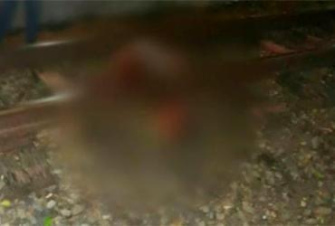 Criança de 8 anos tem cabeça decepada após ser atropelada por trem | Reprodução