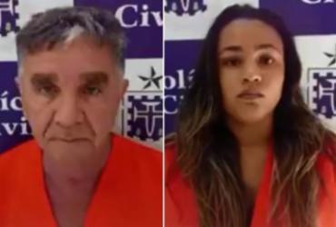Idoso e jovem são presos após tentativa de golpe em agência bancária   Divulgação