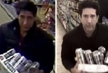 Polícia agradece David Schwimmer após encontrar ladrão parecido com Ross |