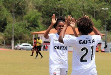 Vitória avança à semifinal do Baianão Feminino   Maurícia da Matta   EC Vitória