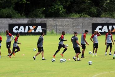 Vitória volta aos treinos para último jogo da temporada   Maurícia da Matta   EC Vitória
