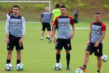 Vitória tem mais um dia de treinamento para última rodada   Maurícia da Matta   EC Vitória