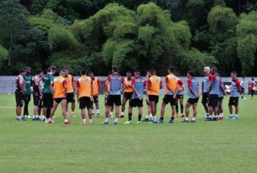 Vitória volta aos treinos de olho no duelo contra o Cruzeiro   Maurícia da Matta   EC Vitória